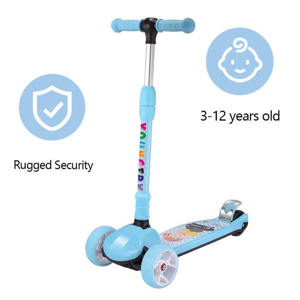 barato E Scooter para para para Niños, Flash De Cuatro Ruedas, Scooter para Niños, Juguetes Al Aire Libre para Niños Y Niñas De 3 Años  orden ahora con gran descuento y entrega gratuita
