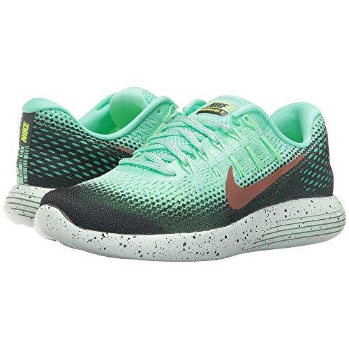 プリーツプロジェクター夕暮れ(ナイキ) Nike レディース ランニング?ウォーキング シューズ?靴 LunarGlide 8 Shield [並行輸入品]