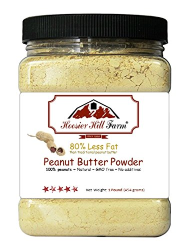 Peanut Butter Powder by Hoosier Hill Farm, 1 Lb. by Hoosier Hill Farm