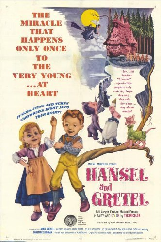 Hansel and Gretel Poster Movie 1965