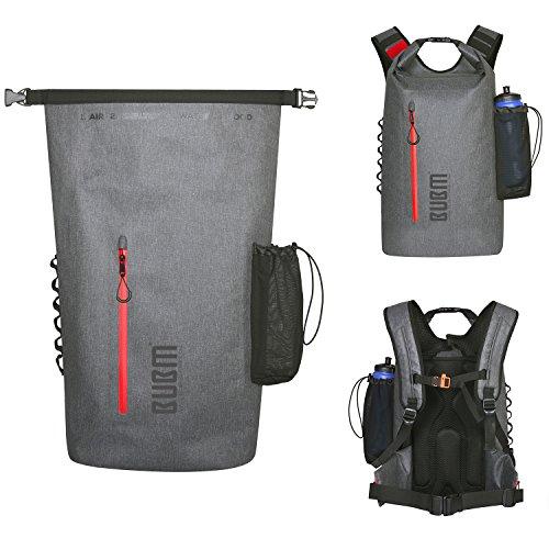 防水バッグパック 防水リュック ドライバッグ 多機能 アウトドア パック ツーリング収納袋 登山 釣り 旅行用 全体的な防水 大容量 25-35L超軽量