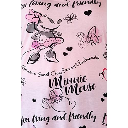 97c1164d1df0c Disney Womens Plus Size Tank Minnie Mouse All Over Print Lightweight Top  durable service