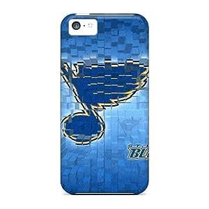 Iphone 5c Case Bumper Tpu Skin Cover For St Louis Blues Logo Accessories