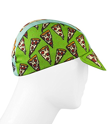 Pizza Rulez Cycling Cap - Made in the USA (Zombie Pizza)