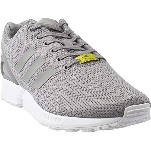 adidas Originals Men's ZX Flux Sneaker,Light Granite/Light Granite/Core White, - Zx Adidas Womens