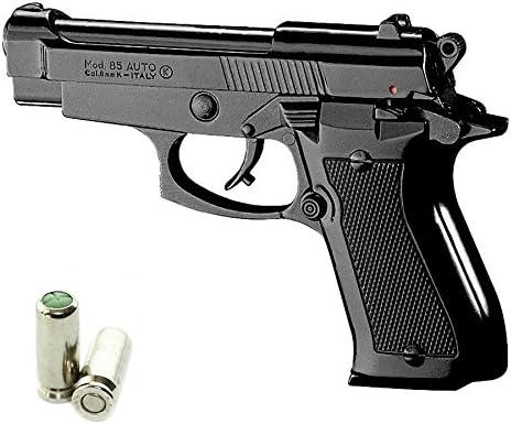 Pistola a Salve KIMAR Beretta 85 Cal.9 PAK | Top Firing | Nera
