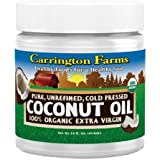 Carrington Farms Organic Extra Virgin Coconut Oil, 14 Ounce