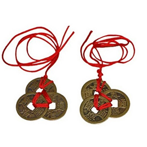 - Top Quality Chinese Feng Shui Coins 3 pcs /2 set