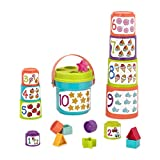 Battat - Sort & Stack - Educational Stacking Cups with...