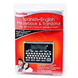 New Franklin TES-121 Spanish English Phrasebook and Travel Translator TES121 121