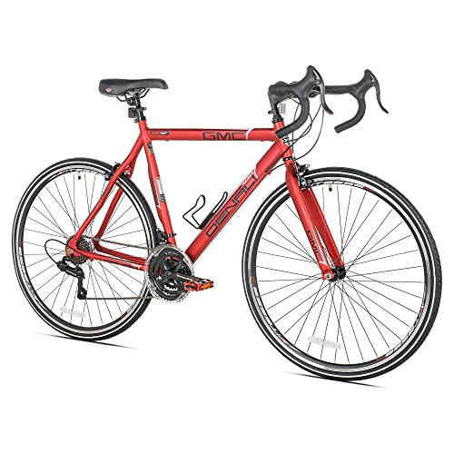 GMC Denali Road Bike, 700c, Red, Medium/57cm Frame