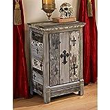 Design Toscano Gothic Sanctuary End Table