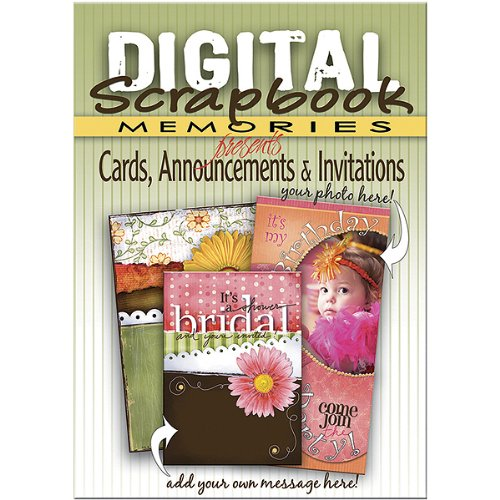 - DIGITAL SCRAPBOOK MEMORIE Software, Cards, Announcements and Invitations