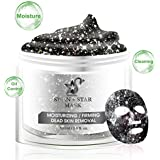 Glitter Face Mask Peel Off, Deep Cleaning Pore Shining Face Acne Oil Control Moisturizing Whitening Stars Mask, Purifying Glittering Fantasy Color Star Facial Peel-Off Masks
