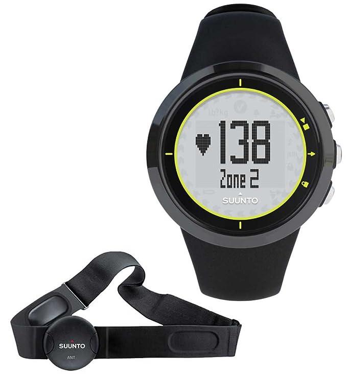 Suunto M2 Black/Lime - Reloj Deportivo (Dot-Matrix, 43,6 x 13 x 43 ...