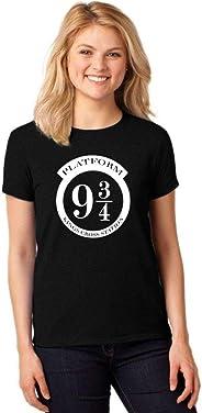 Camiseta Feminina T-Shirt Harry Potter Plataforma 9 3/4 Baby Look ER_134