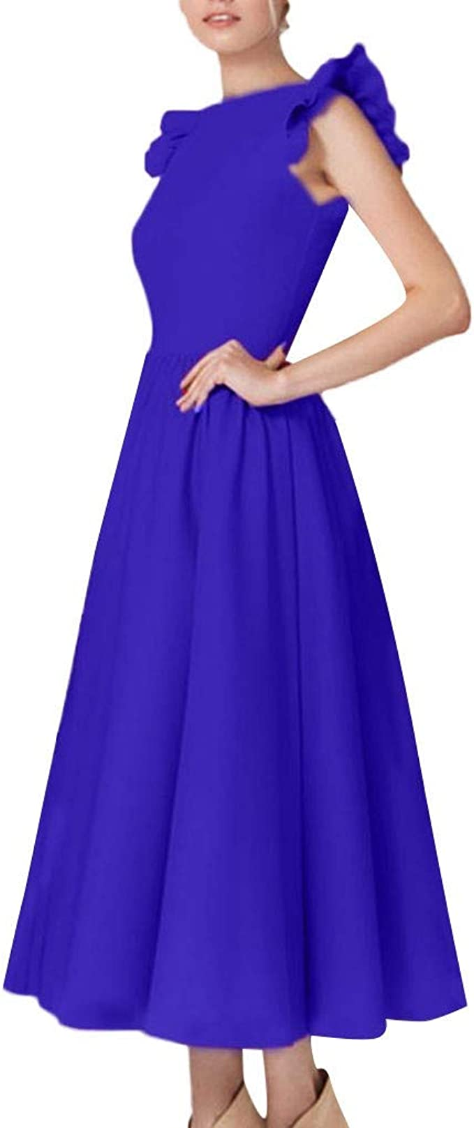 Lulupi 12er Cocktailkleid Vintage Abendkleid Damen Kleider