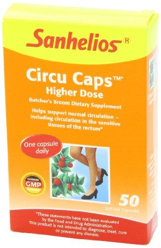 Sanhelios 20300 Circu Caps Higher Dose, 50 Count
