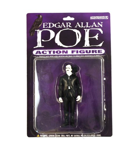 Edgar Allan Poe Action Figure by Accoutrements
