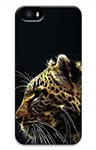 iPhone 5 5S Case Cool Lion 3D Funny Lovely Best Cool Customize iPhone 5 Cover