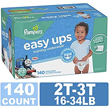 39c15cf141c Pampers Easy Ups Training Pants Pull On Disposable Diapers for Boys