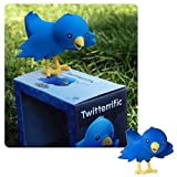 Ollie is an adorable little bluebird that loves to chat about what's going on! This adorable mascot of social networking giant - Twitter - stands approximately 4-inches tall and comes in a displayable window box. Ollie the Twitteriffic Bird is made o...