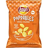 Lay's Poppables White Cheddar Flavored Potato Snacks, 5 Ounce