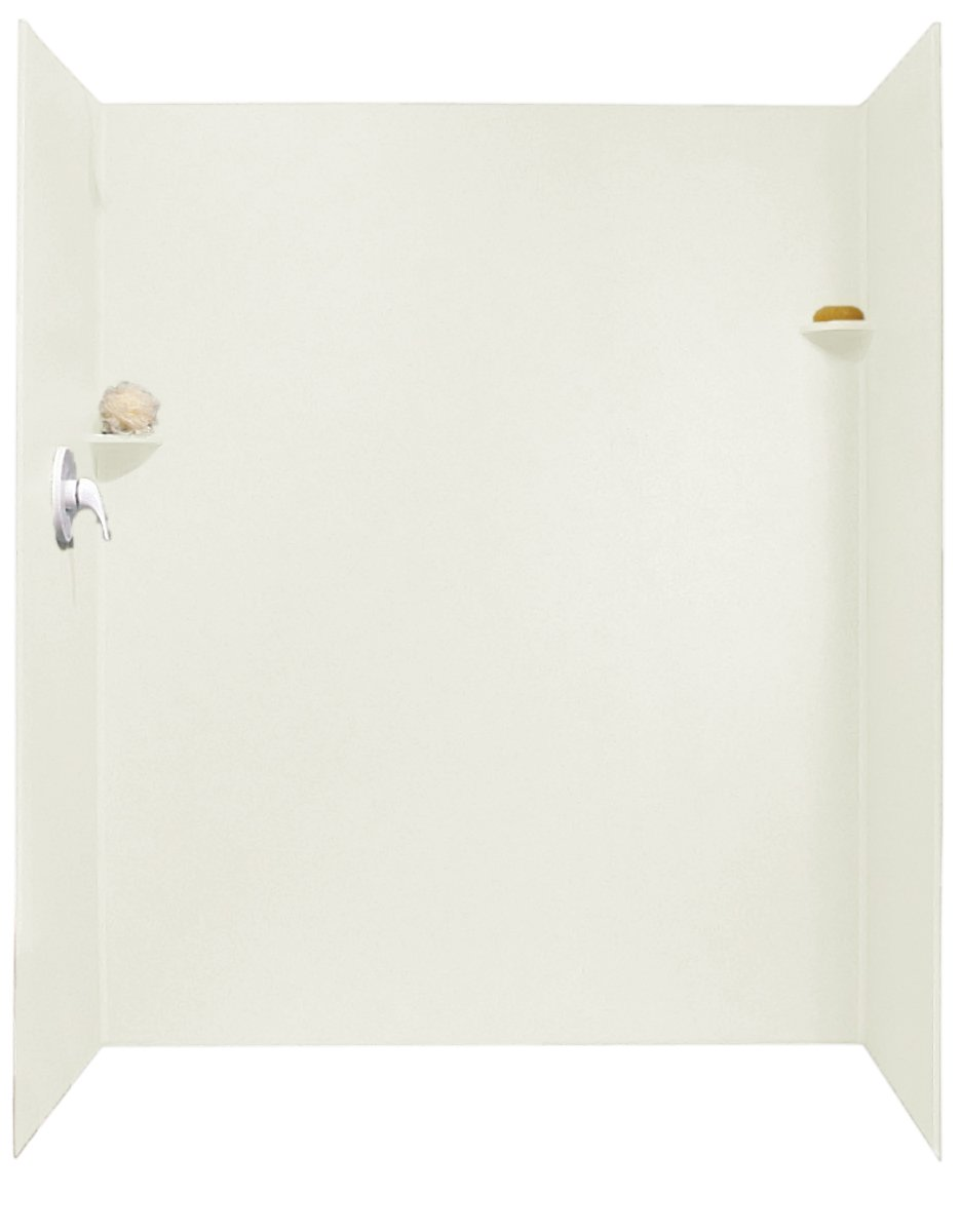 Swanstone SK 326072 010 32 Inch By 60 Inch By 72 Inch Shower Wall Kit,  White Finish   Shower Wall Surrounds   Amazon.com