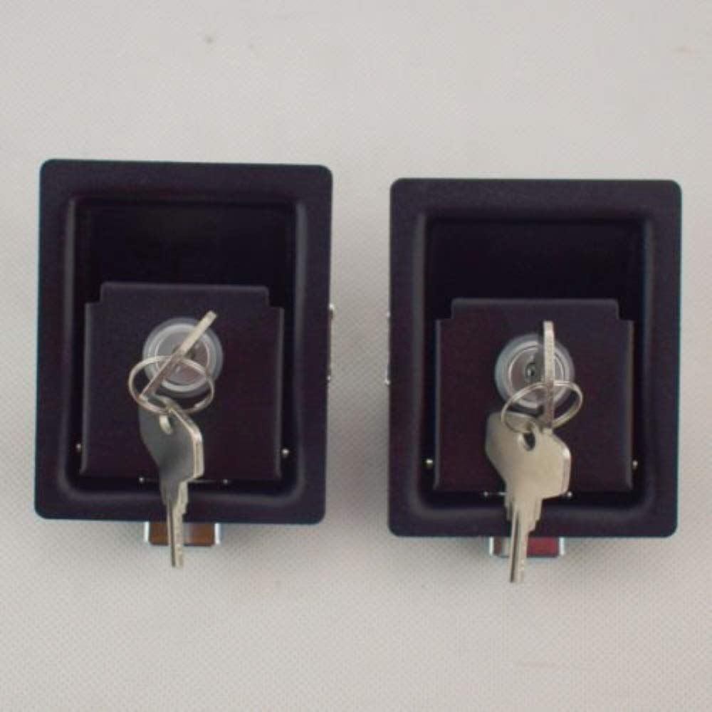 Pair Of Push To Close Lock,For Electric panels Generators Machinery 016.6.2.03.1