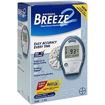 Amazon Com Bayer S Breeze2 Blood Glucose Monitoring