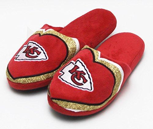NFL Football 2015 Womens Glitter Slide Slippers Shoe - Pick Team Cincinnati Bengals omZIwji
