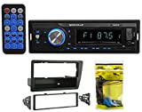 Single-Din Digital Media Bluetooth Receiver + Install For 2001-2005 Honda Civic