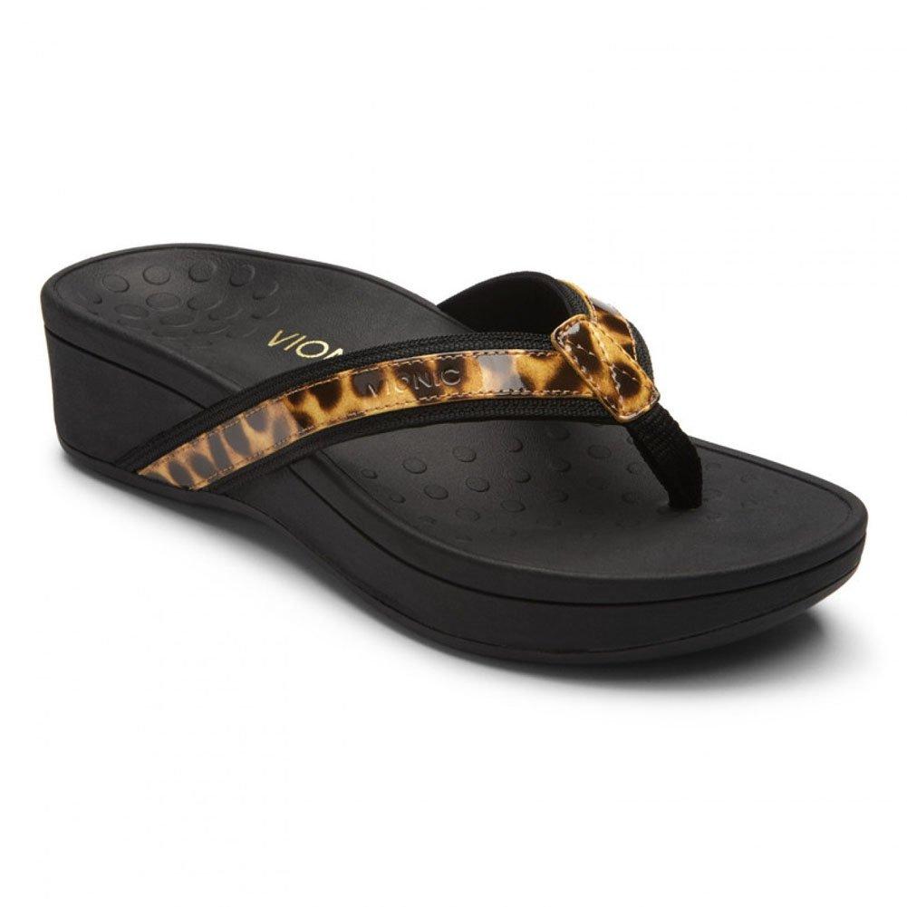 Vionic Tan Womens 380 Hightide Pacific Leather Pacific Sandals Sandals Tan Leopard 0aeda7d - automaticcouplings.space