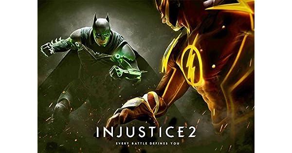 Injustice 2 Poster by Injustice 2: Amazon.es: Videojuegos