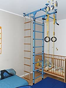 Indoor Klettergerüst für Kinder FITTOP M1 (Rosa, 200 - 250 cm)