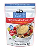 Flax USA Golden Flax Cold Milled Golden Flax Seed 3 lb. by Flax USA [Foods]