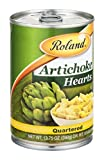 Roland Artichoke Hearts Quartered 13.75 OZ (Pack of 24)