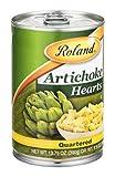 Roland Artichoke Hearts Quartered 13.75 OZ (Pack of 24)