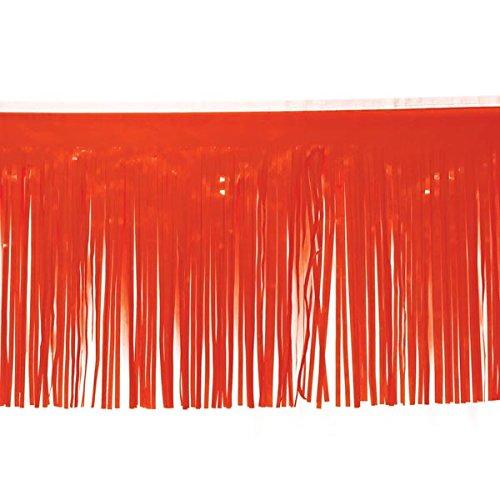 Orange Vinyl Fringe - 15