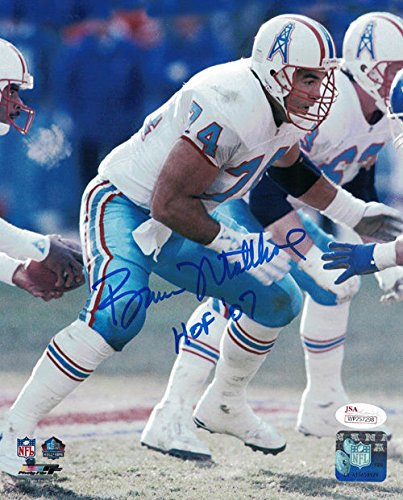 Image Unavailable. Image not available for. Color  Bruce Matthews Autographed  Houston Oilers 8x10 Photo HOF 07 JSA 812c0f61e