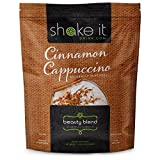 "Shake It Plant Based Beauty Blend Protein, Natural Dairy Free Protein Powder, Healthy Vegan Meal Replacement""Cinnamon Cappuccino"" 1.87lbs For Sale"