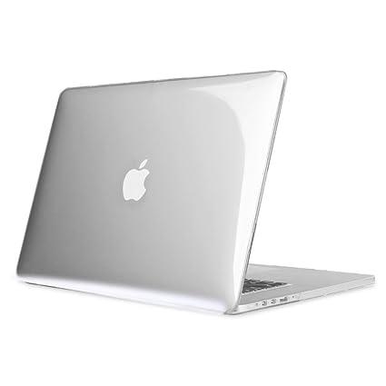 Fintie Funda para MacBook Pro 15 Retina - Súper Delgada Carcasa Protectora de Plástico Duro para Apple MacBook Pro 15.4