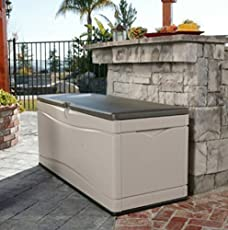 Home Storage SolutionsPlastic Deck Box Patio Cushion Storage And Garden Tools Large & Outdoor Storage Benches | Amazon.com
