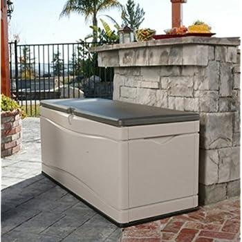 Amazon Com Home Storage Solutions Plastic Deck Box