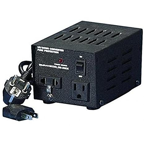 Wybitny Amazon.com: Voltage Converter From 220/240 to 110/120 &From 110 ZD64