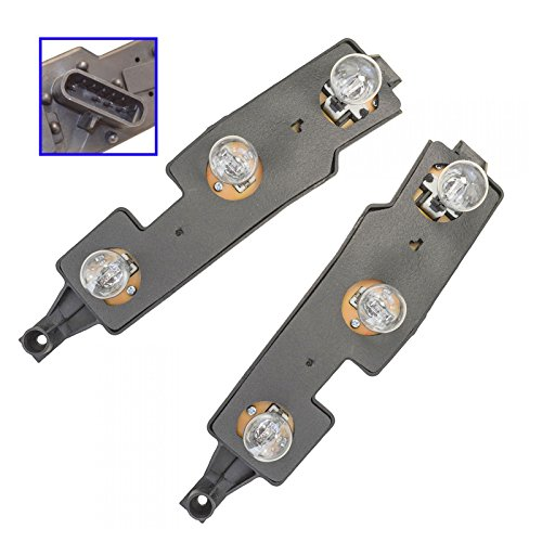 Taillight Taillamp Brake Light Circuit Board LH & RH Pair Set for Chevy Truck (Light Circuit Rh Board Tail)