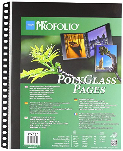 Darice ITY90135 Itoya Polyglass Pages by Darice