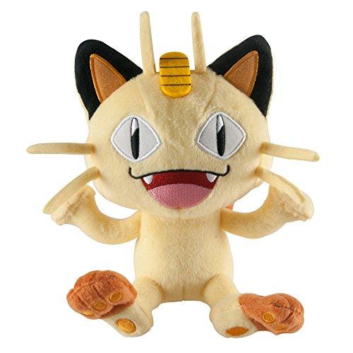 Pokemon-T18536D510MEOWTH-8-Inch-Meowth-Plush-Toy