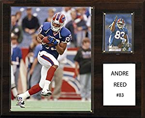 NFL Buffalo Bills Andre Reed 12 x 15-Inch Player Plaque