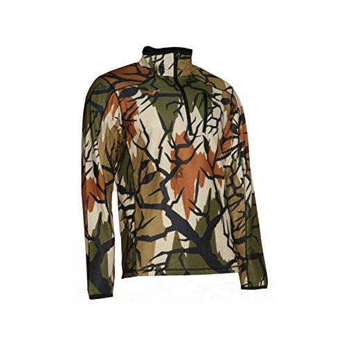 (Predator Camo Men's Grid Fleece Perform Zip, Spring Green, 3X-Large)